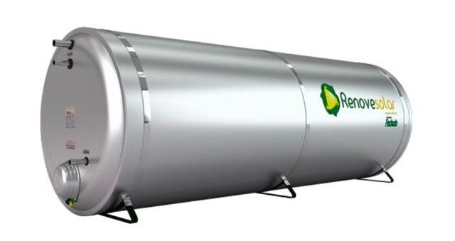 Kit Aquecedor Solar-Reservatório Térmico / Boiler 1000 Litros Nível - Entrega Grátis