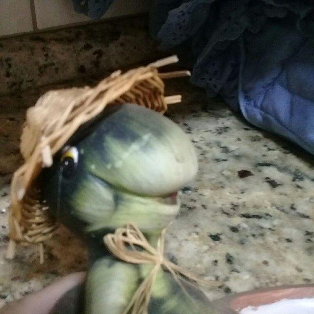 enfeite decorativo tema tartaruga - Foto 2