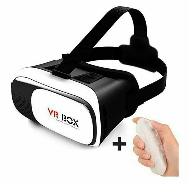 Óculos 3D Realidade Virtual Vr Box + Controle Bluetooth