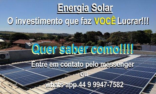 Energia Solar - faça seu orçamento 44 9  *