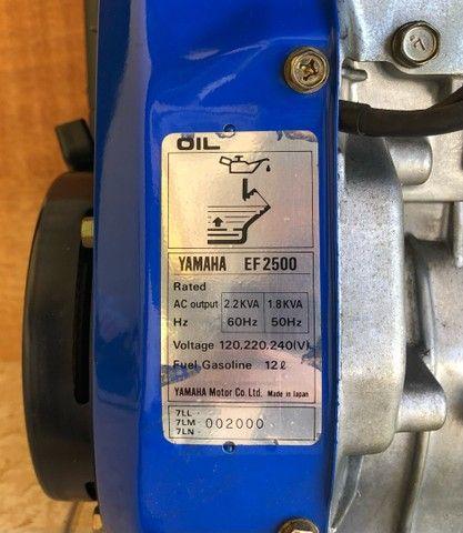 Gerador de energia Yamaha EF2500 Motor 4 tempos - Foto 5