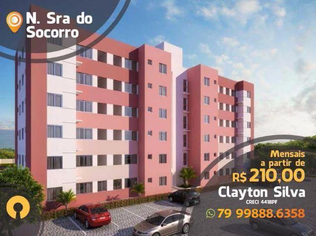 Vida Residencial Apartamento em Socorro na Planta - 2/4 - até 21 mil de Subsídio -