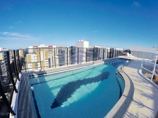 Apartamento quarto e sala nascente com 40m² - Edifício Ametista VII - Ponta Verde