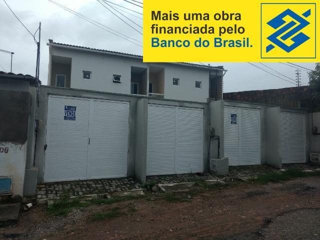 Duplex novos financiados no Bairro Parque Tijuca em Maracanaú Documentação Grátis!
