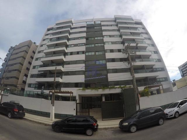 Apartamento novo com 3 quartos sendo 2 suítes - Edifício Galba Accioly - Jatiúca