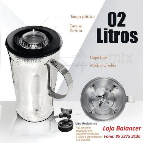 Liquidificador Industrial 2 Litros Alta Rotação Spolu 9  * Novo - Foto 2
