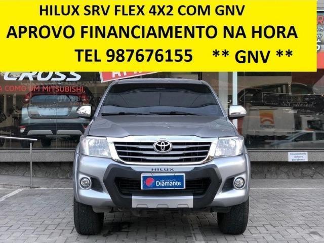Toyota Hilux Srv Flex c/ Gnv - Foto 6
