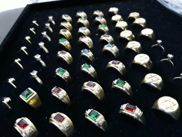 Bracelete,aneis, corrente, pulseira ,pingente personalizado - Foto 4