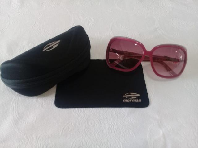 09921ff6c Óculos de Sol Feminino Rosa Marca Mormaii - Com estojo original ...
