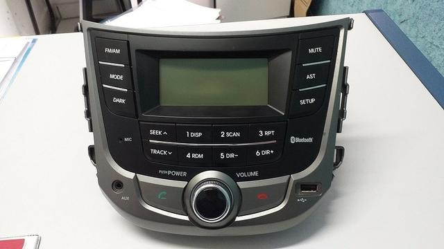 Som Rádio Original Hyundai Hb20 Bluetooth