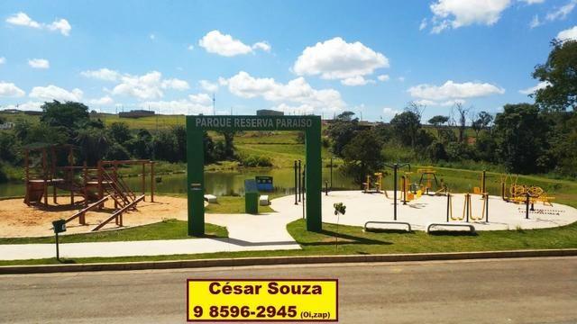 Loteamento Reserva do Parque ao lado de parque ecológico no Valparaíso