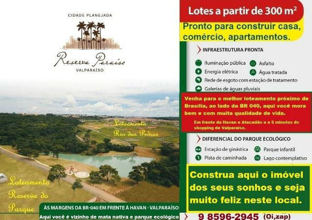 Loteamento Reserva do Parque ao lado de parque ecológico no Valparaíso - Foto 5