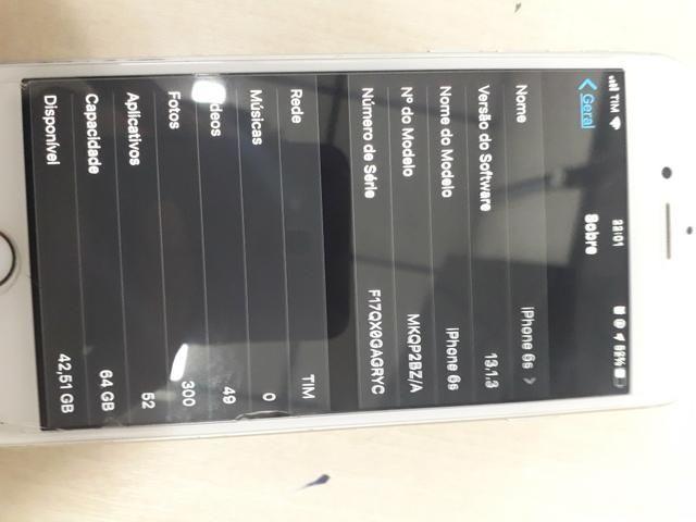 IPhone 6s64gb mais J6 64gb por iphone8 - Foto 2