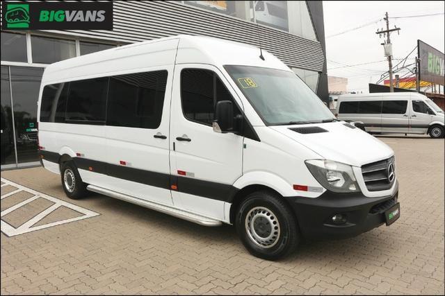 Sprinter 2018 415 Bigvan Executiva 19L Branca (4209) - Foto 6