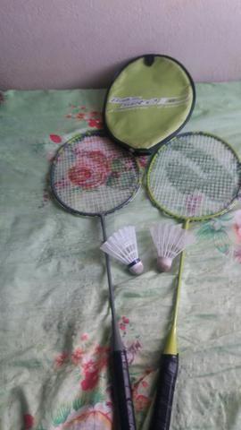 Jogo de raquete com duas peteca só para venda - Foto 2