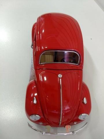 Miniatura Volkswagen Fusca 1/18 - Foto 6