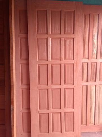 Porta Madeira Mista ou Angelim com Aduela - Foto 2