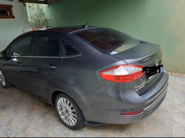 Vendo Fiesta sedan titanium 1.6 flex - Foto 3