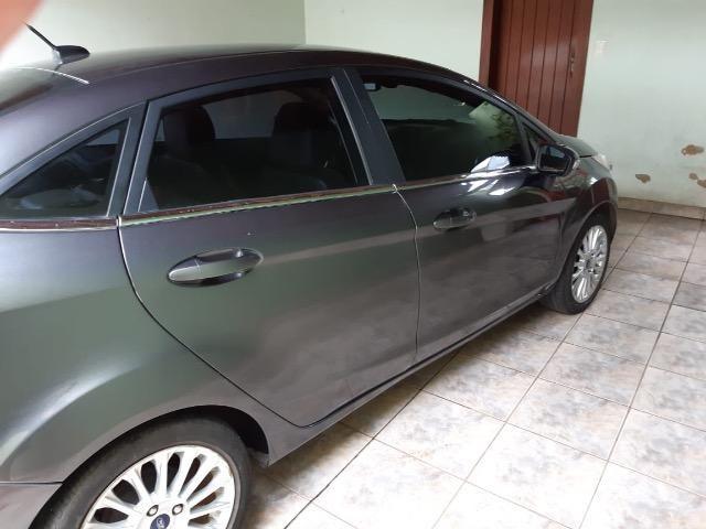 Vendo Fiesta sedan titanium 1.6 flex - Foto 7