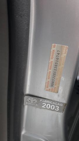 Raridade: Corolla XEI 2003/2003, câmbio manual,impecável, aceito troca - Foto 19