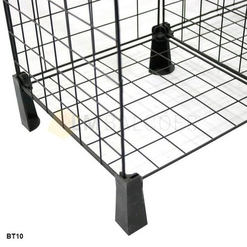 Aramado 1,20 x 1,00 x 0,30 c/ tampo de vidro 12 casulos - imperdivel ' - Foto 2