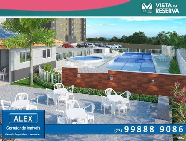 ALX - 14 - APÊ de 2 Quartos, Lazer com piscina e academia - Vista da Reserva - Foto 3