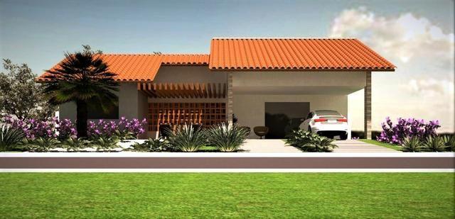 Vendo casa em acabamento dentro de condomínio-Campo Maior-PI