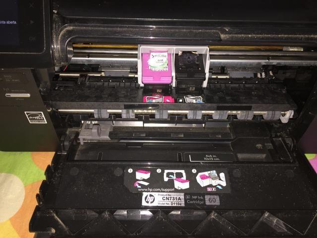 Impressora e-multifunctional hp photosmart da série d-110 - Foto 4