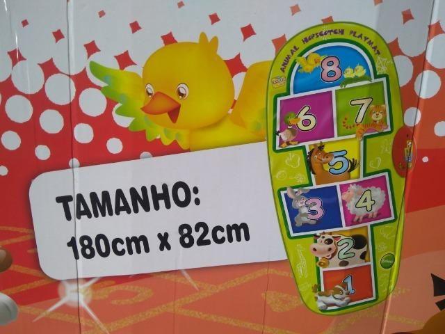 Tapete interativo Amarelinha Musical Novo - Foto 3