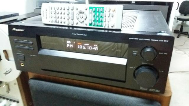 Receiver pionner modelo vsx-d712 com controle - Foto 4
