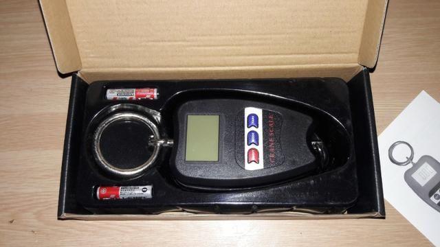 Balança Digital Gancho Suspensa até 200 Kg Aceito Cartão - Foto 4