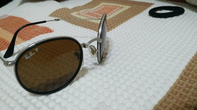 Óculos ray ban, dobrável, original, lente polarizada, usado ... e00c2f6567
