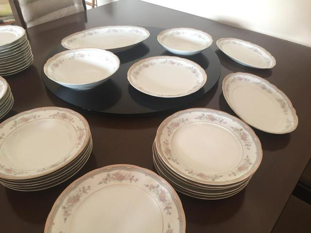 Aparelho De Jantar Porcelana Schmidt Utilidades Domésticas