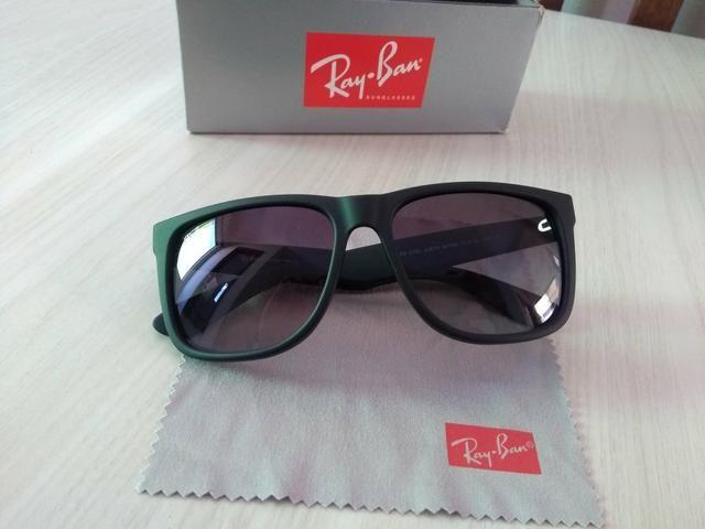 Oculos de Sol Ray Ban Justin Original - Bijouterias, relógios e ... 65882f8e9c