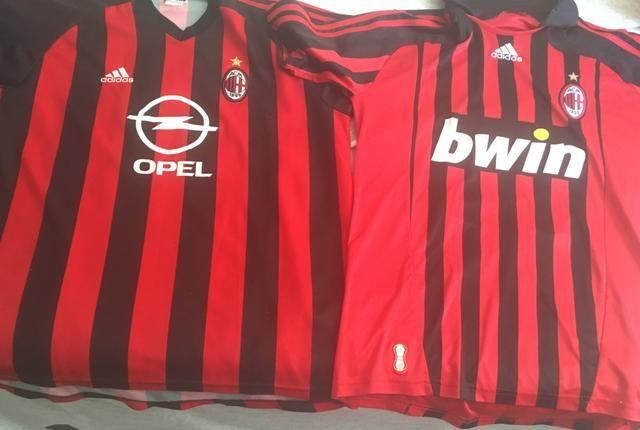 Camisas do Milan - Esportes e ginástica - Ipsep 323d28a063a2b