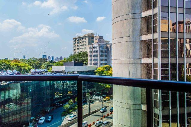 Flat na Av. Cidade Jardim com a Av, Faria Lima, ótima localização - Foto 13