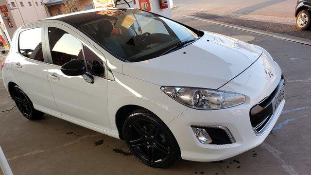 Peugeot 308 Allure automático, revisado. Assumo financiamento/consórcio. Oportunidade!