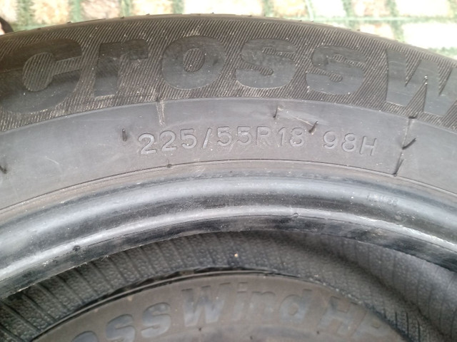 Vendo 2 pneus 225/55R18 - Foto 4