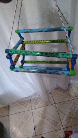 Cadeirinha de balanço ótimo presente para criançada - Foto 3