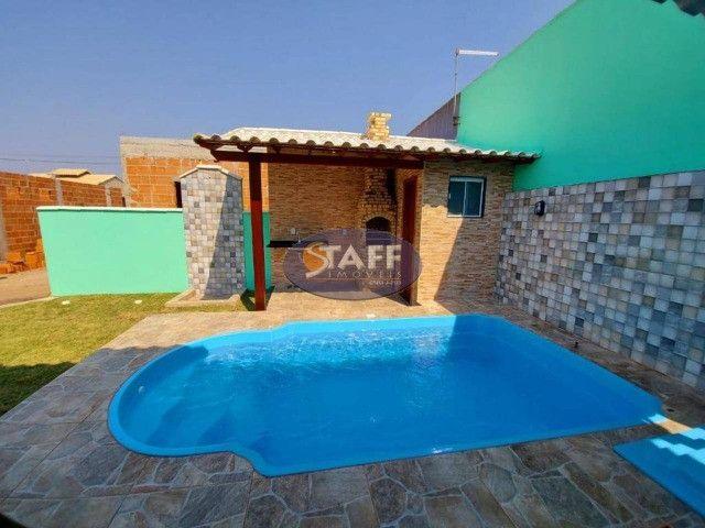 K- Casas lindas com 2 quartos, sendo 1 suíte, no Gravatá em Unamar - Foto 14