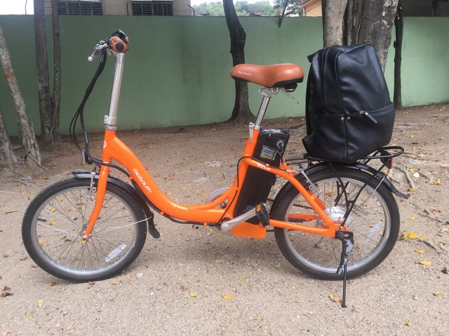 Bike elétrica Riu south novinha