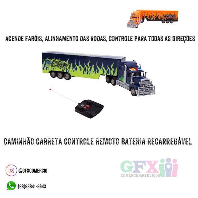 Caminhão controle remoto - produto novo