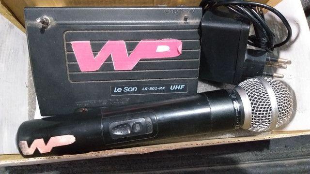 Microfone sem fio LeSon SM-58