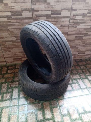 Vendo 2 pneus 225/55R18 - Foto 2