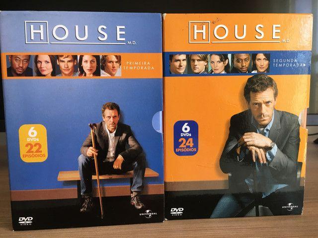 Coleção completa dvds House m.d - Foto 2