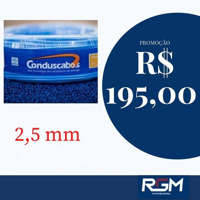 Cabinho 2,5 mm R$ 195,00 - Foto 2