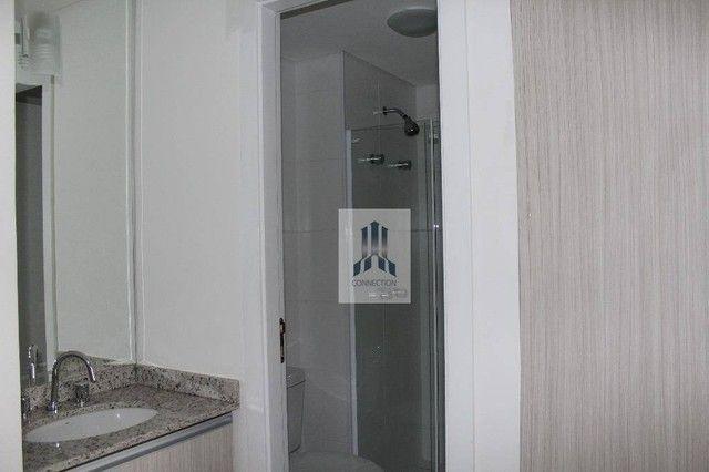Apartamento com 1 dormitório para alugar, 48 m² por R$ 1.300,00/mês - Bigorrilho - Curitib - Foto 3
