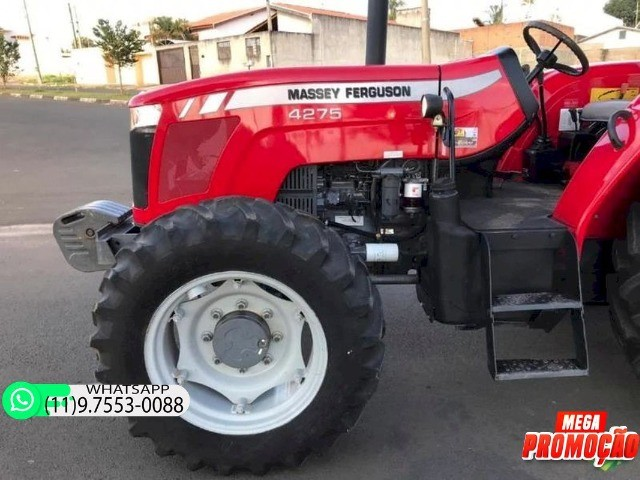 Trator Massey Ferguson 4275 4x4 ano 15 60800 - Foto 2