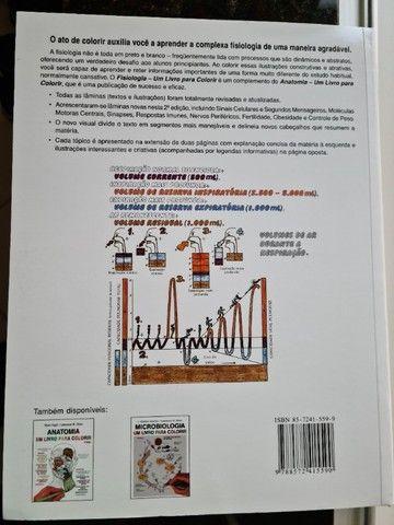 Fisiologia um livro para colorir - Foto 2