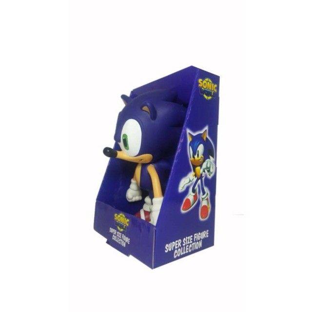Boneco Sonic Grande Super Size - 23cm - Foto 4